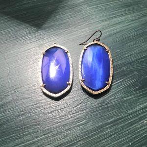 Kendra Scott Danielle Blue Earrings